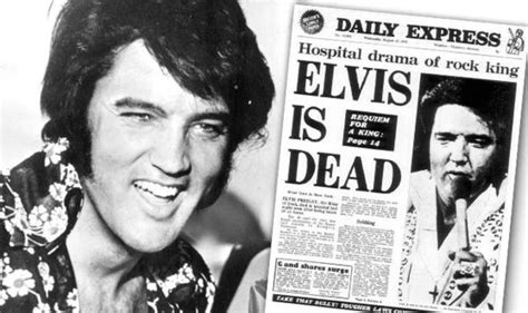 rock the boat elvis 2018 elvis presley s death 37 years ago and how the daily