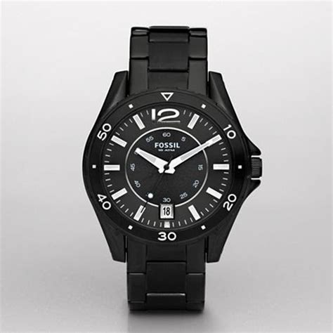 Fossil Fs4662 Original All Black original fossil watches by geniehour fossil mens three