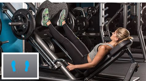 Incline Leg Press Sled Weight by Where Should I Place My On The Leg Press