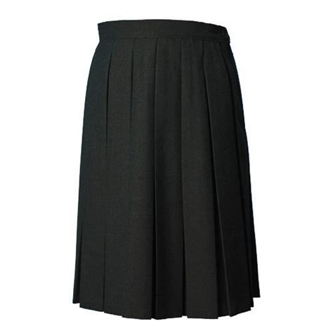 black box pleat skirt from the schoolwear specialists