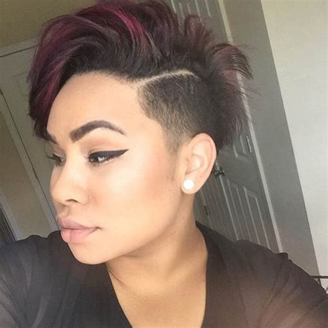 women hairstyles shaved sides 805 best h a i r s h a v e d images on pinterest