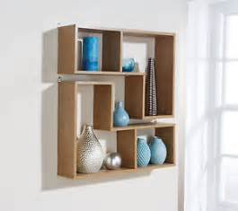 Decorative Storage Shelves Pair Wall Hanging Shelves Oak Decorative Storage Shelf