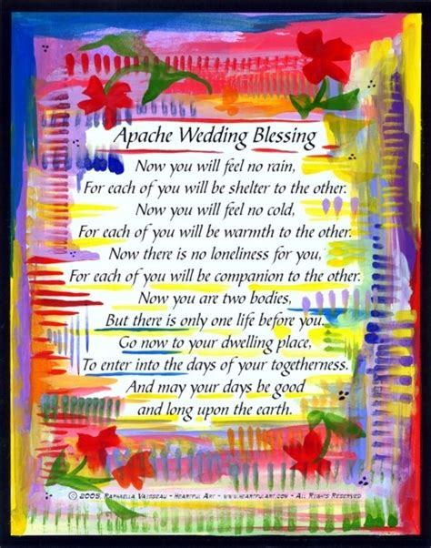 apache indian wedding blessing all about wedding wedding poems