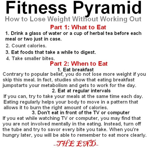 for better fitness pyramid how to lose weight