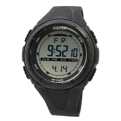 Digitec Dual Time Rantai Silver jam tangan pria digitec time c414 original daftar