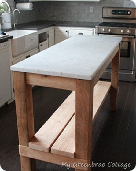 reclaimed wood kitchen islands 17 best ideas about marble top on marble top
