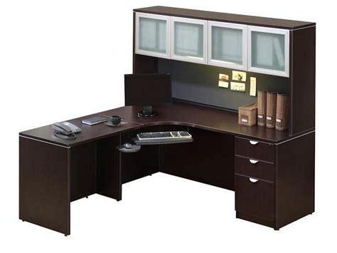 Corner Office Desk Hutch Cabinets Shelving Office Furniture Corner Desk With Hutch How Is The Basic Construction Of