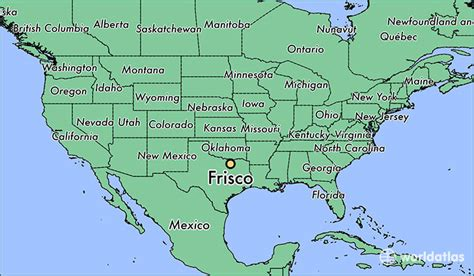 frisco map texas where is frisco tx where is frisco tx located in the world frisco map worldatlas