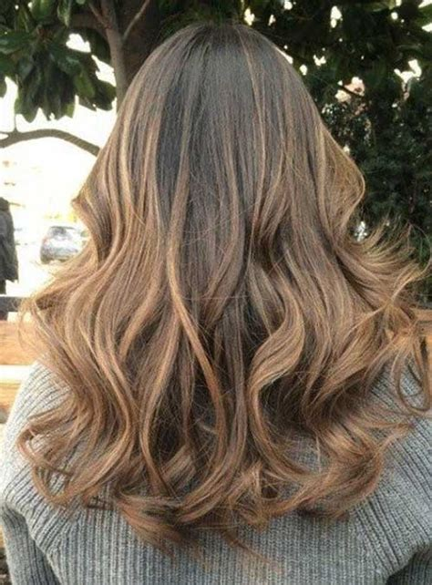 hair styles dark on top and light on bottom 40 best light brown hair color long hairstyles 2017