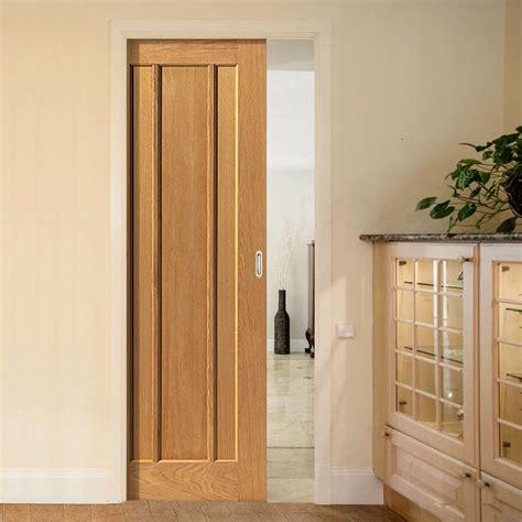 pocket doors river oak single pocket door oak panelled single