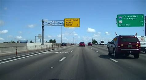 express road express lanes to on northbound i 95 into broward