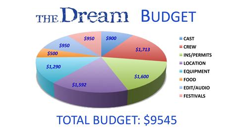 up film budget the dream the film indiegogo
