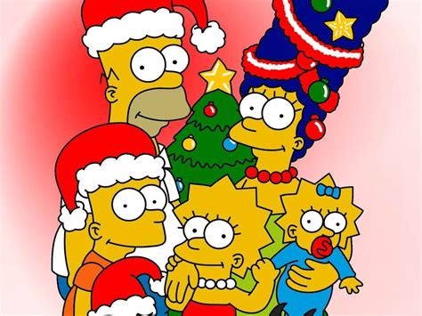 imagenes atrevidas en comiquitas christmas time the simpsons wallpaper 27401087 fanpop