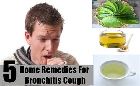 best home remedies for bronchitis cough