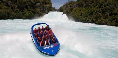 u boat new zealand huka falls jet jet boat taupo everything new zealand