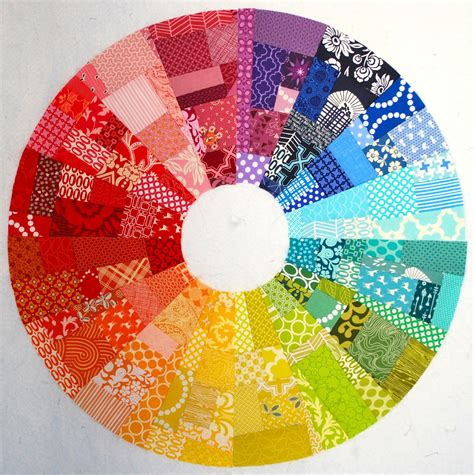 pattern of color wheel city stitches my colorwheel