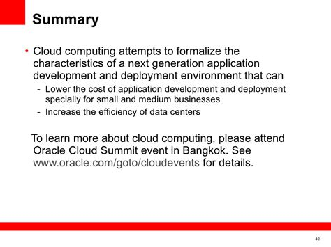 summary cloud computing attempts to