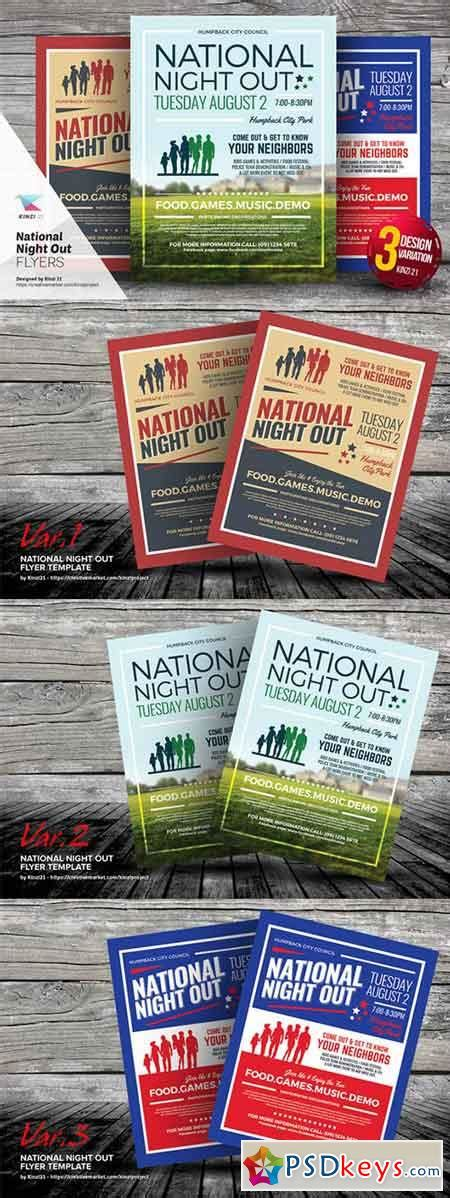 National Night Out Flyer Templates 654888 187 Free Download Photoshop Vector Stock Image Via National Out Flyer Template Free