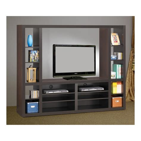 the simple stores contemporary entertainment wall unit