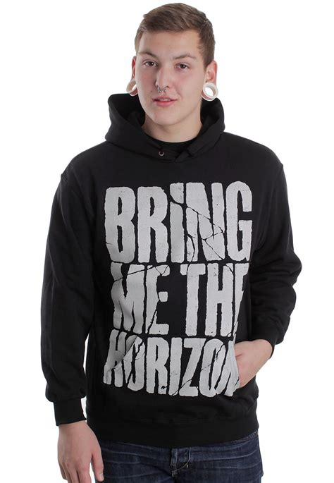 Hoodie Bring Me The Horizon Hitamrockzillastore bring me the horizon cross axe hoodie impericon worldwide