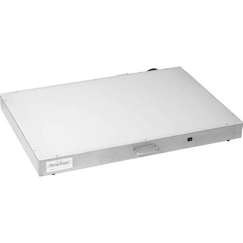 porta trace light box porta trace gagne 2436 stainless steel led light box