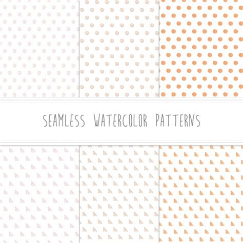 pattern collection download watercolor patterns collection vector free download