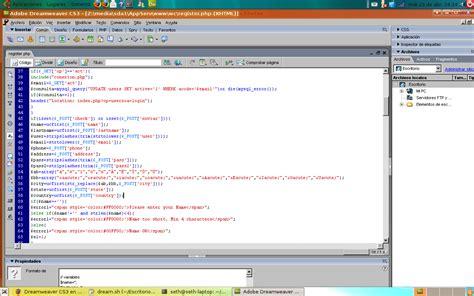 dreamweaver tutorial with php dreamweaver cs3 en ubuntu ubuntu y php para la