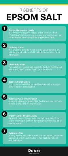 Epsom Salt Bath Detox For Autism by 1000 Images About Health On Thyroid Benefits