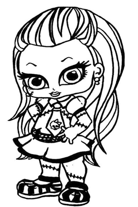 High Frankie Coloring Pages