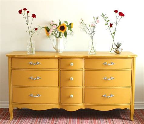 Colorful Dressers Furniture by Best 25 Yellow Dresser Ideas On Yellow