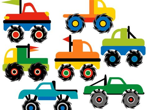 trucks clipart clip trucks by revidevi teaching resources tes