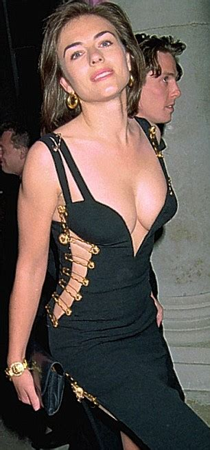 Buy Elizabeth Hurleys Safety Pin Versace Dress by The Liz Hurley It Dress Makes A Return To The Versace