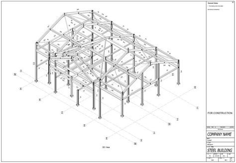 structure drawing steelwork detailing bim 3 d models