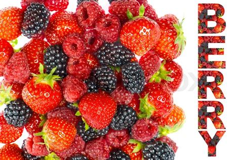 Mix Berry berry mix of fresh summer berries stock photo colourbox
