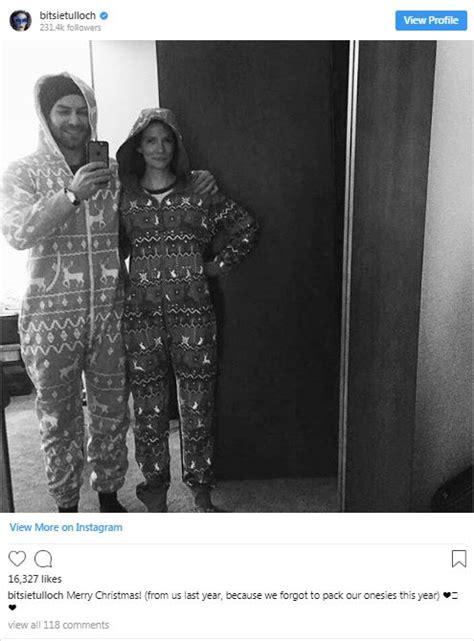 bitsie tulloch turned actor boyfriend  husband married pregnancy talks