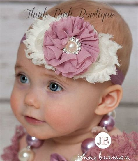 baby headband baby headbands baby headband shabby chic headband vintage inspired