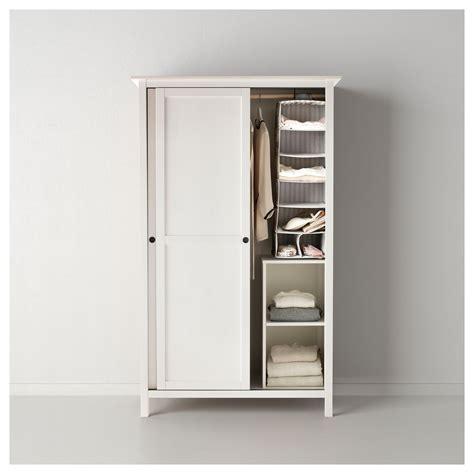 armario hemnes ikea 2 puertas hemnes armario 2 puertas correderas tinte blanco 120 x 197