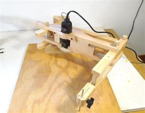 woodworking dremel dremel tool mount for the pantograph jigs