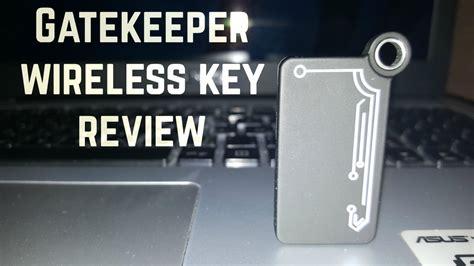 gatekeeper pattern key gatekeeper wireless key review best to secure your data