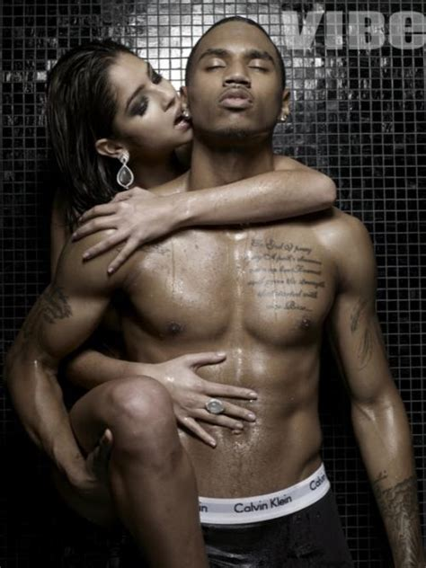 Trey Songz Shower gossip it up trey songz outtakes from vibe magazine