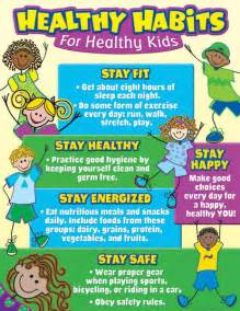 healthy habits for healthy kids chart tcr7736