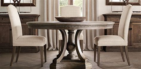 restoration hardware dining table freedom to