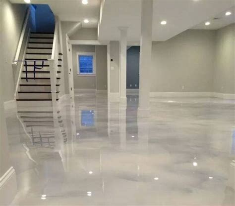 9 epoxy floor precio pin on basement