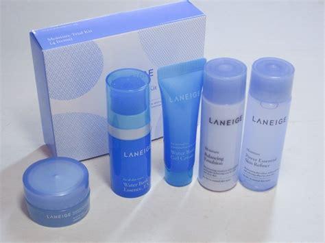Laneige Mask Trial Kit laneige moisture trial kit 5 items refiner emulsion gel
