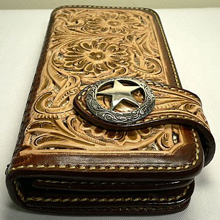 Handmade Western Leather Wallets - whandmade indian genuine cowhide leather leather wallet