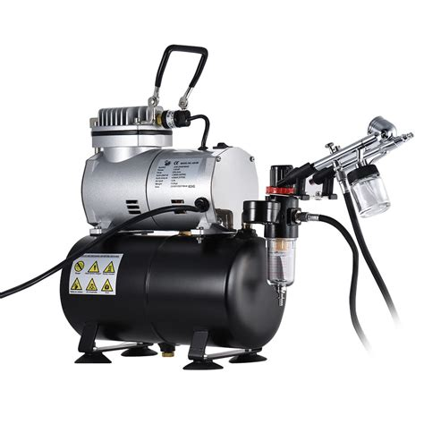 airbrush tattoo kit professional airbrush air compressor kit with dual