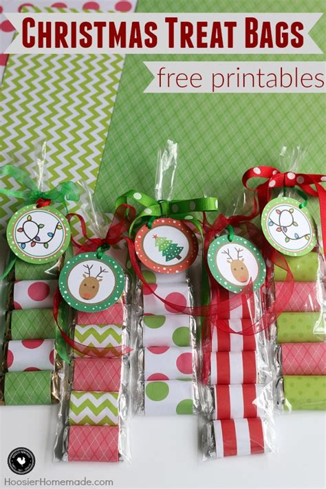 christmas treat bags hoosier homemade