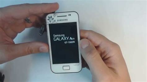 reset samsung ace samsung galaxy ace s5839i hard reset youtube