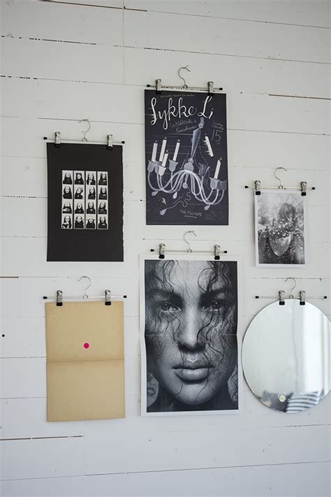 ways to hang posters d i s p l a y by fryd