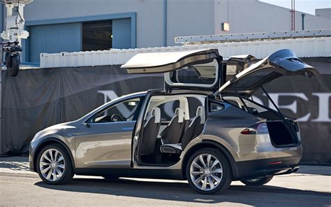 Preview Ride: Tesla Model X Prototype Photo Gallery